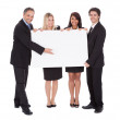 Group of happy business colleagues — Stock Photo #10863127