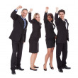Group of happy business colleagues — Stock Photo #10863172
