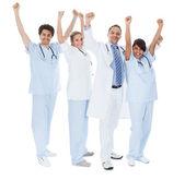 Grupo de médicos, celebrando o sucesso — Fotografia Stock