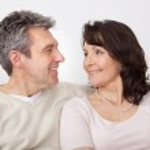Portrait of happy mature couple — Stock Photo #10918112