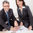 Two business at the meeting — Stock Photo #10918324