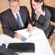 Business in the office at the meeting — Stock Photo #10918643