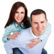 Portrait of beautiful young couple — Stock Photo