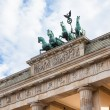 Brandenburg gate in Berlin - Foto Stock