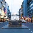 Checkpoint Charlie, Berlin, Germany,, — Stock Photo