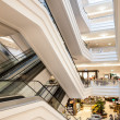 multilevel shopping center — Stock Photo
