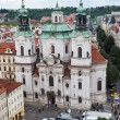St. Nicholas Church, Prague,,, — Stock Photo