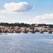 Charles bridge, Prague, Czech Republic,, - Stock Photo