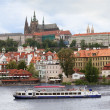 View over Prague Castle — Stock Photo