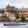 View over Prague Castle - Stock Photo