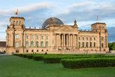 Reichstag, berlin, německo,, — Stock fotografie