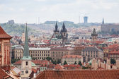 View of Old Town and Prague city center — Stock Photo