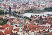 Charles bridge, Prague, Czech Republic,, — Stock Photo