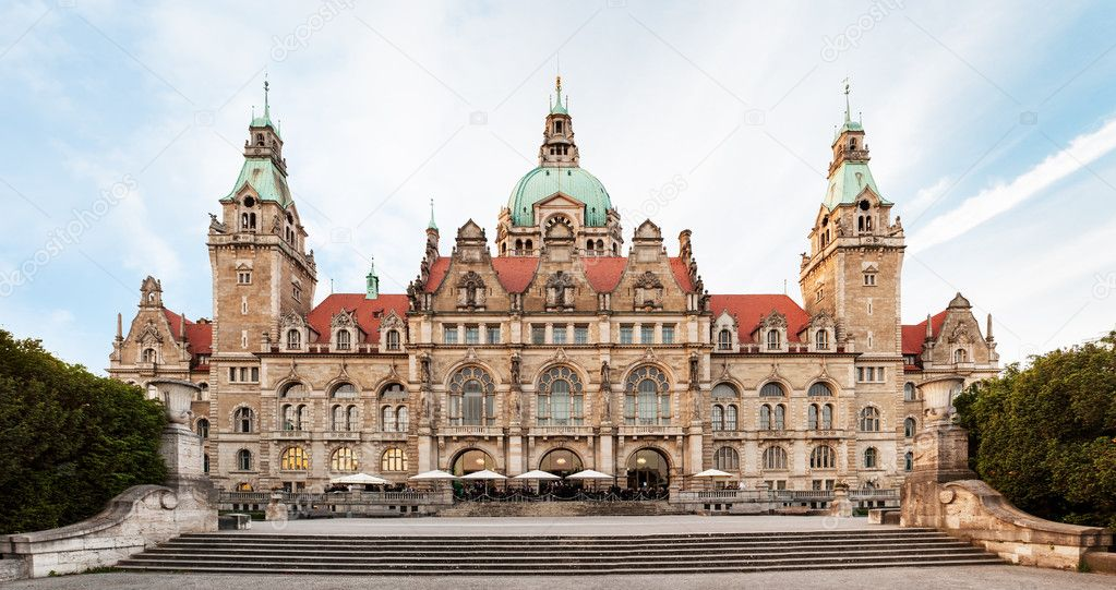 Neues Rathaus (New Town hall) in Hannover, Germany,,,  Stock Photo #11359068