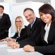 Group of business at presentation — Stock Photo #11453370