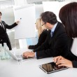 Group of business at presentation — Stock Photo #11453378