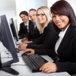 Group of business in the office — Stock Photo #11453380