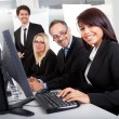 Group of business in the office — Stock Photo #11453381