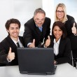 Group of business at the meeting — Foto de stock #11453397