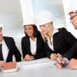 Group of architects at the meeting — Stock Photo #11453414