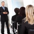 Group of business at the lecture — Stock Photo #11453450