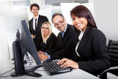 Group of business in the office — Stock Photo