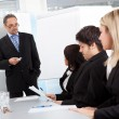 Group of business at presentation — Stock Photo