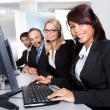Customer service support - Stock Photo