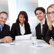 Group of business at the meeting — Stock Photo #11472074