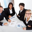 Group of business at the meeting — Stock Photo