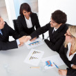 Group of business at the meeting — Stock Photo #11472081