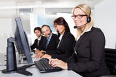 Customer service support — Foto Stock