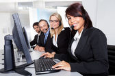 Customer service support — Stock Photo