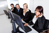 Customer service support — Stock Photo
