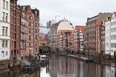 Speicherstadt Hamburg, Germany,,, — Stock Photo