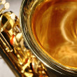Saxophone bell — Stock Photo