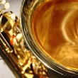 Saxophone bell - Stock Photo