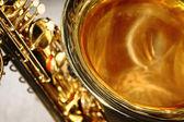 Saxophone bell — Stock Photo