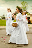 Corpus Christi procession — Stock Photo