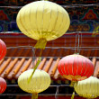 Lantern in chinese temple — Stock Photo #11635555