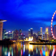 Singapore city skyline at night — Stock Photo #11635585