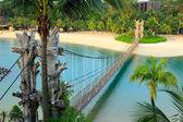 Landscape in sentosa, Singapore — Stock Photo
