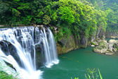 Great waterfall in taiwan — Stock Photo