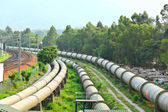 Industry scene — Stock Photo