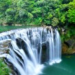 Stock Photo: Great waterfall in taiwan