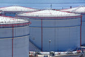 Oil tanks — Stock Photo