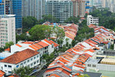 Residential downtown in Singapore — Stockfoto