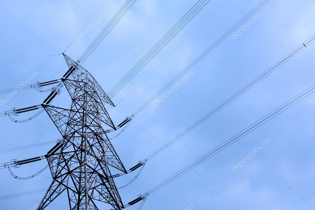 Electricity tower — Foto Stock #12016548