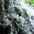 Fresh spring water from mountain — Stock Photo