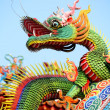 Chinese dragon - 图库照片